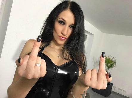 Blackmail Telefonerziehung mit Lady Meli